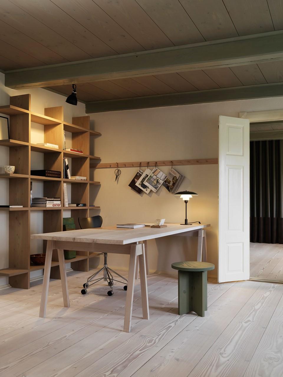 douglas fir floor lye white soap underfloor heating desk office dinesen country home.jpg