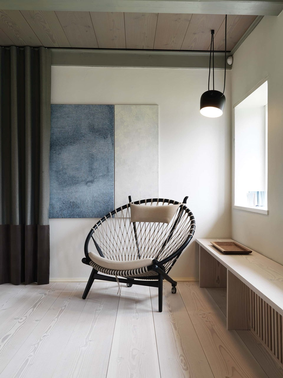 douglas fir floor lye white soap underfloor heating the circle chair dinesen country home.jpg