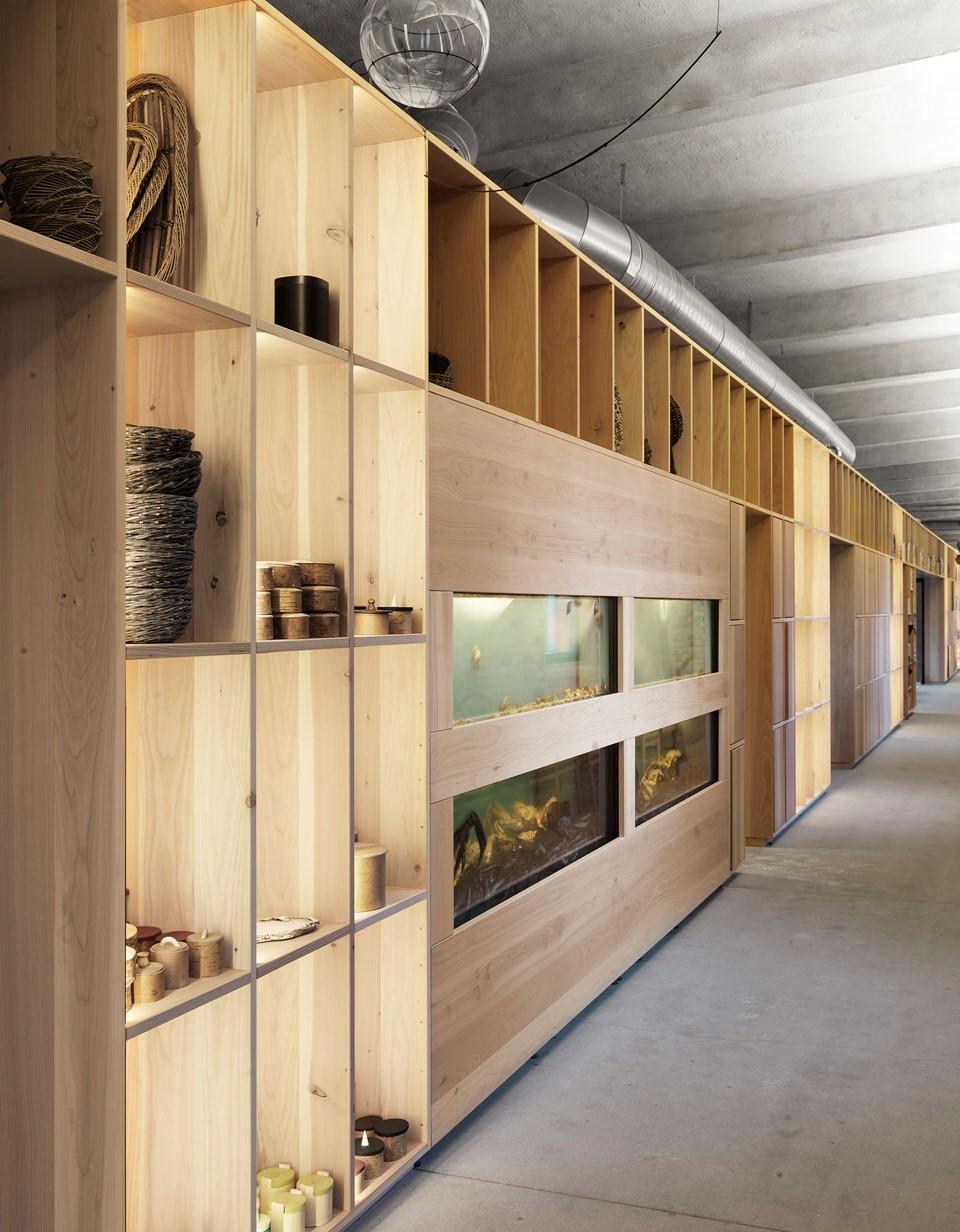 douglas fir shelving system noma hallway studio david thulstrup dinesen.jpg
