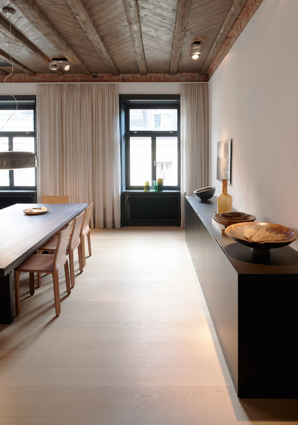 oak wooden floor grandoak white oil stockholm apartment diningroom dinesen.jpg